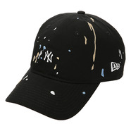 NEW ERA キャップ SPLASH BLACK
