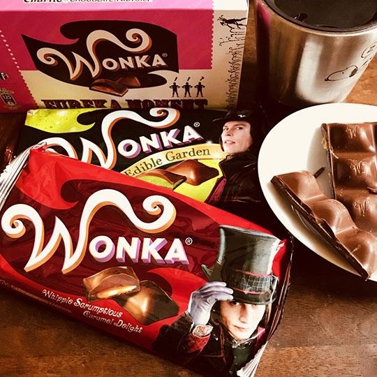 大人気ウォンカチョコレートのご紹介です♪