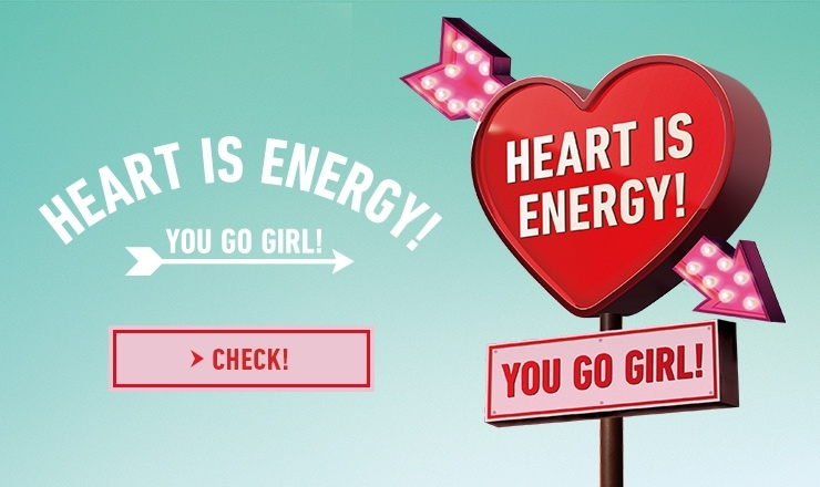 HEART IS ENERGY!