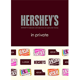 HERSHEY'S × in private