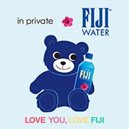 FIJI Water×in private